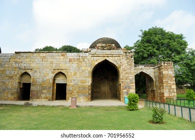 Alauddin Khilji's madrasa. Alauddin Khilji's madrasa is located in the Qutb Complex in New Delhi.