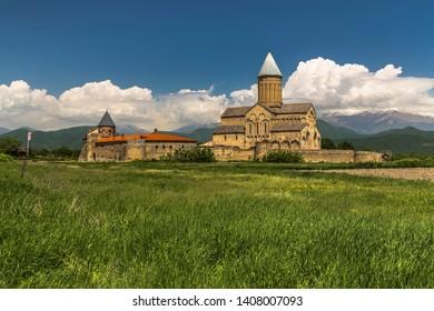 Alaverdi Monastery is a Georgian Eastern Orthodox monastery in the Kakheti region of Eastern Georgia.