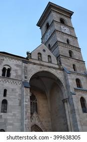 Alba Iulia Saint Michael Christian Cathedral, in the citadel, Romania