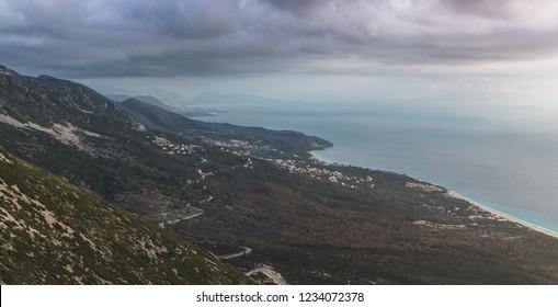 Albania Albanian Himare Vlora Coastal