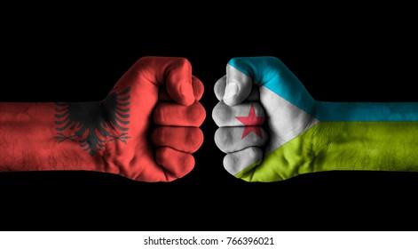 Albania vs Djibouti