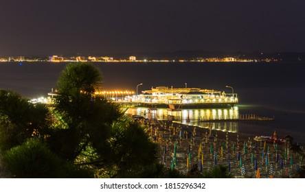 Albanian Beach at Night (Durres)