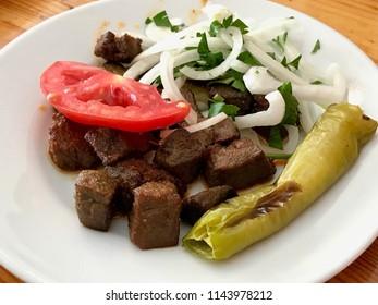 Albanian liver with Onions / Arnavut Cigeri.