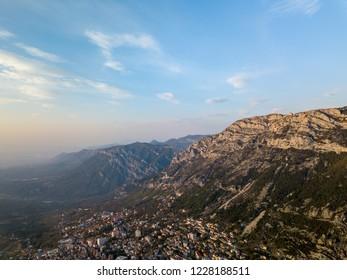 Albanian mountains near Kruja/Kruje, Albania
