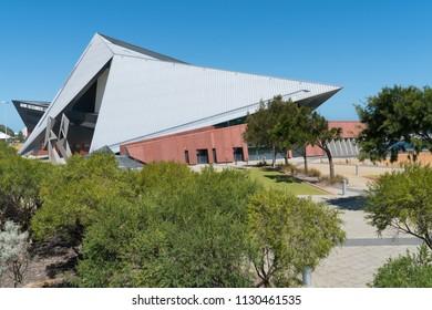 ALBANY, AUSTRALIA - FEBRUARY 3, 2018: Entertainment Center, modern architecture in Albany on February 3, 2018 in Western Australia