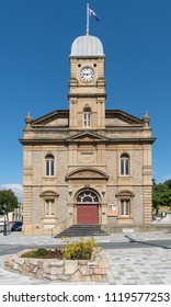 ALBANY, AUSTRALIA - FEBRUARY 5, 2018: Historic townhall, famous place of Albany on February 5, 2018 in Western Australia