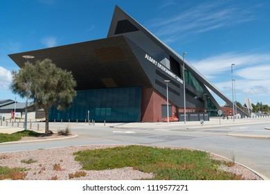 ALBANY, AUSTRALIA - FEBRUARY 5, 2018: Entertainment Center, modern architecture in Albany on February 5, 2018 in Western Australia