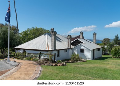 ALBANY, AUSTRALIA - FEBRUARY 5, 2018: Historical building, famous place of Albany on February 5, 2018 in Western Australia