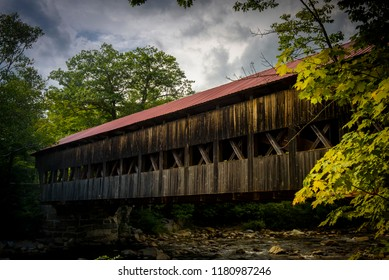 Albany covered bridge in the white mountains