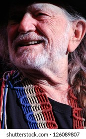 ALBANY - FEB 13: Willie Nelson performs from the Palace Theater on Feb 13, 2008 in Albany, NY.
