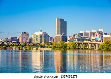 Albany, New York, USA Cityscape