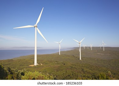 Albany Wind Farm, near the town of the same name in Western Australia.