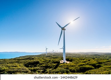 The Albany Wind Farm is one of the most spectacular and largest wind farms in Australia. These turbines involves converting wind energy into electricity by using wind.