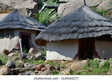 Albasini ruins at Phabeni Gate in Kruger National park in South Africa