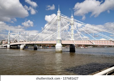 Albert Bridge, London, England, UK