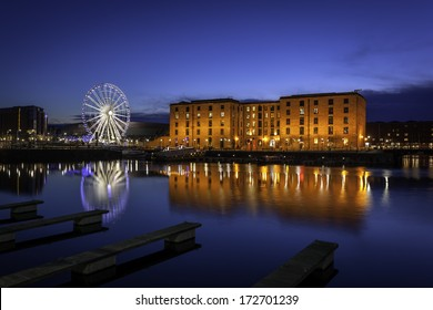 The Albert Dock is a complex of dock buildings and warehouses in Liverpool, England.