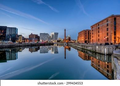 Albert Dock complex in Liverpool