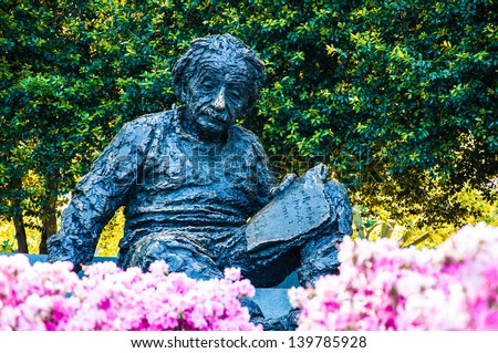 Albert Einstein Memorial in