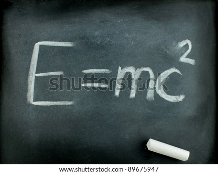 E=mc² Albert Einsteins physical