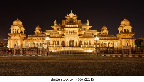 Albert Hall (Central Museum), Jaipur. It is located in Ram Niwas Garden in Jaipur