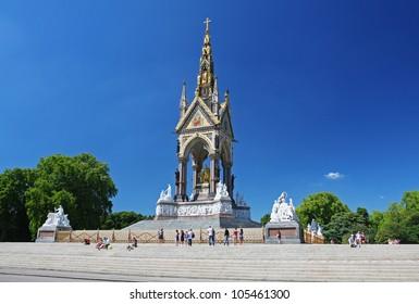 The Albert Memorial in London's Hyde Park
