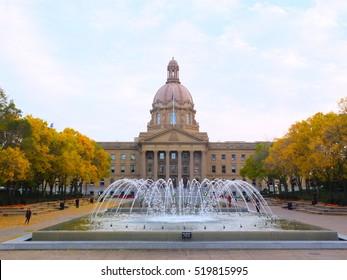 Alberta Legislature building, Edmonton