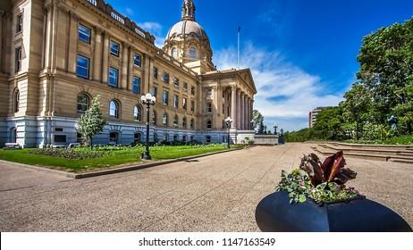 Alberta Legislature Building Edmonton Canada