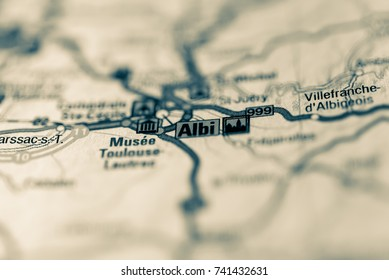 Albi on map.