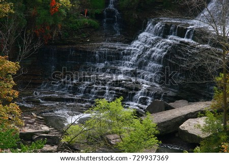 Albion Waterfalls in Hamilton