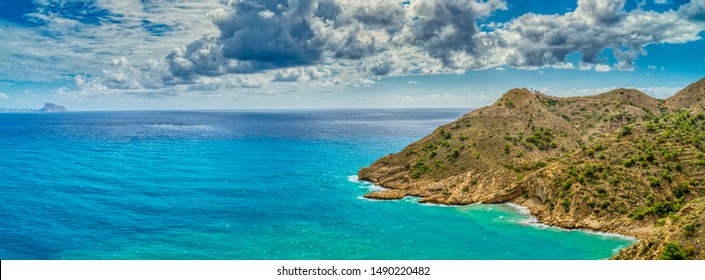 Albir lighthouse Alicante Spain Sea
