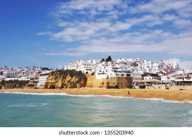 Albufeira village, Algarve region, Portugal