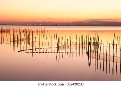 The Albufera in Valencia, Spain