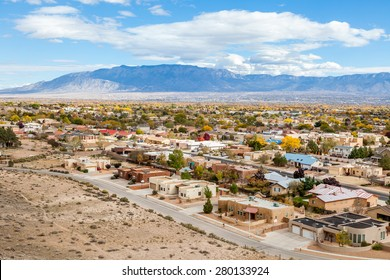 Albuquerque residential suburbs, New Mexico