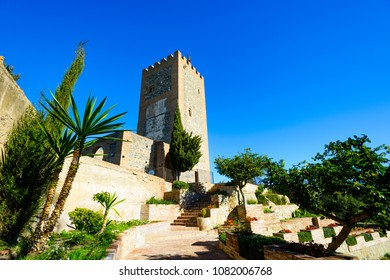 Alcazaba de Velez-Malaga, Historic and Artistic Center of Velez-Malaga, Velez-Malaga, Axarquia Costa del Sol, Malaga, Andalusia, Spain, Iberian Peninsula