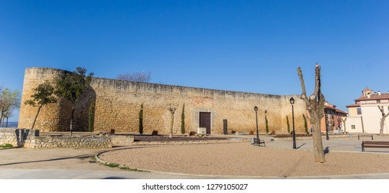 Alcazar castle and sqaure in Toro, Spain