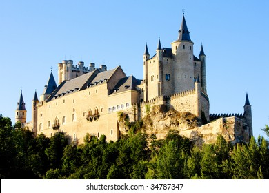 Alcazar fortress, Segovia, Castile and Leon, Spain