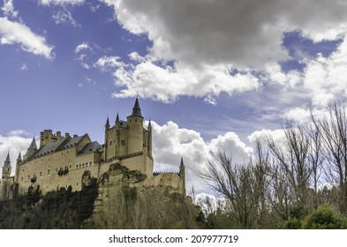 The Alcazar of Segovia (literally, Segovia Castle) is a stone fortification, located in the old city of Segovia, Spain.