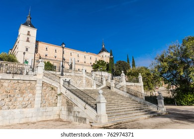 The Alcazar of Toledo is a stone fortification located in the highest part of Toledo, Spain.