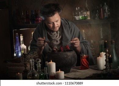 alchemist at the table