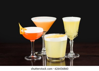 Alcohol cocktail collection