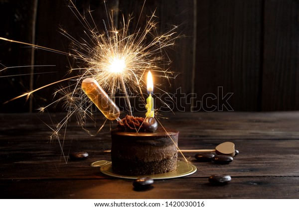 Admirable Alcohol Infused Birthday Cake Mini Chocolate Stock Photo Edit Now Funny Birthday Cards Online Necthendildamsfinfo