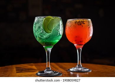 Alcoholic drink - Gin Tonica