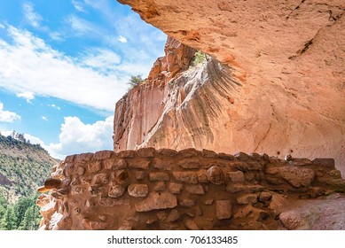 The Alcove House at Bandelier National Monument Park in New Mexico