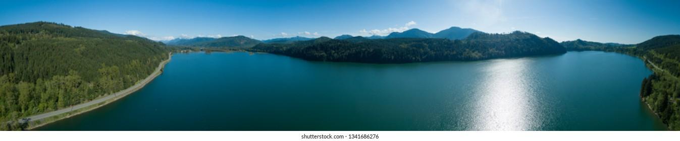 Alder Lake - Man Made Water Reservoir