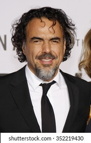 Alejandro Gonzalez Inarritu at the Los Angeles premiere of 'The Revenant' held at the TCL Chinese Theatre in Hollywood, USA on December 16, 2015.