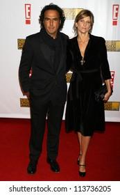Alejandro Gonzlez Irritu and guest at the 12th Annual Critics' Choice Awards. Santa Monica Civic Auditorium, Santa Monica, CA. 01-12-07
