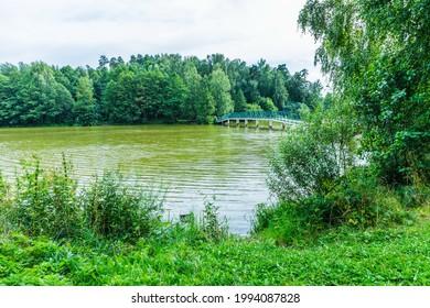 Alekseyevskaya Grove hiking trail in Losiny Ostrov National Park near Moscow, Russia - Shutterstock ID 1994087828