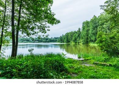 Alekseyevskaya Grove hiking trail in Losiny Ostrov National Park near Moscow, Russia - Shutterstock ID 1994087858