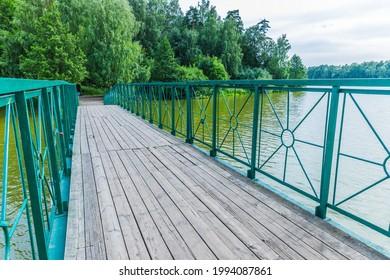 Alekseyevskaya Grove hiking trail in Losiny Ostrov National Park near Moscow, Russia - Shutterstock ID 1994087861