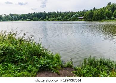Alekseyevskaya Grove hiking trail in Losiny Ostrov National Park near Moscow, Russia - Shutterstock ID 1994087864